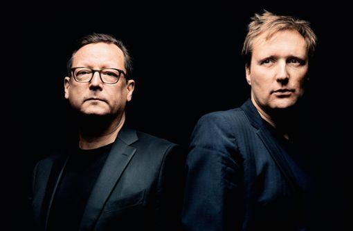 Matthias Brandt (links) und Jens Thomas ergänzen sich ideal.