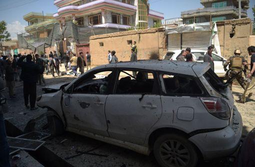 Zahlreiche Tote nach Selbstmordanschlag in Kabul