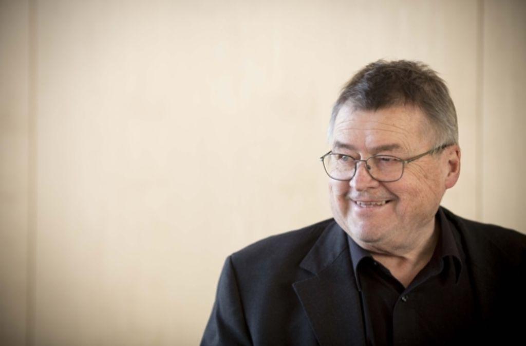 Nachfolger gesucht: Baubürgermeister Matthias Hahn gibt sein Amt auf. Foto: Lichtgut/Leif Piechowski