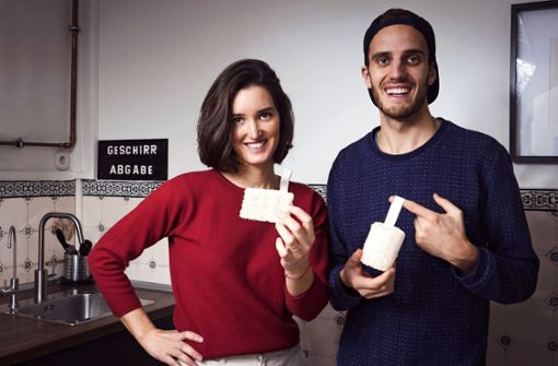 Startup präsentiert nachhaltigen Spül-Lappen