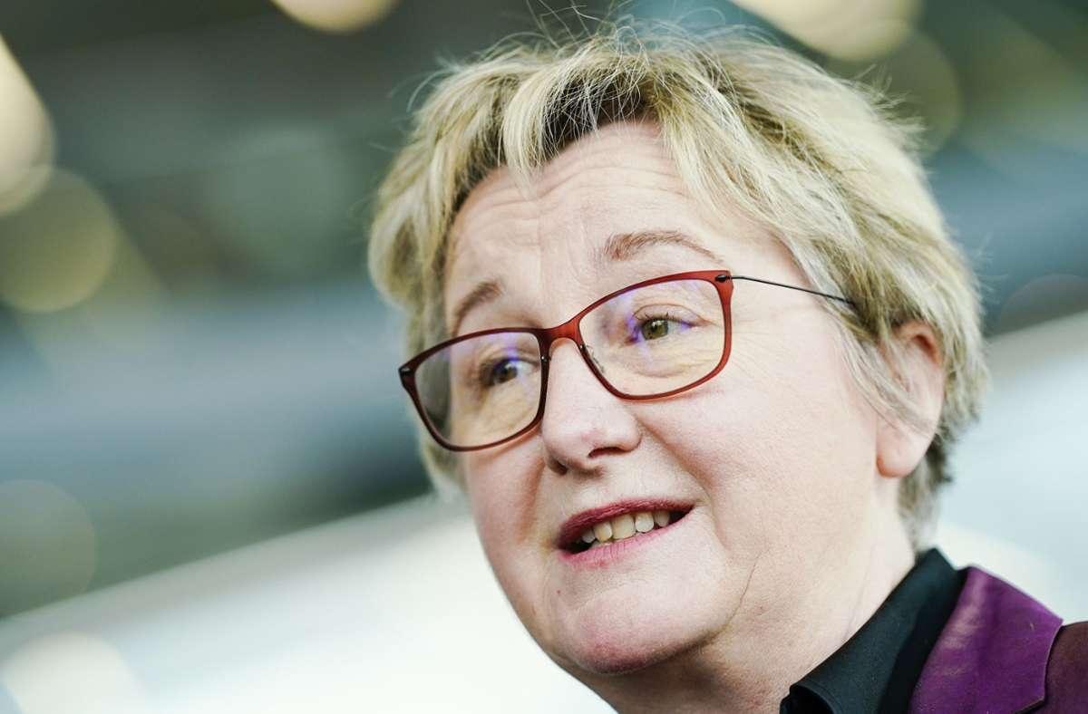 Wissenschaftsministerin Theresia Bauer Foto: dpa/Uwe Anspach