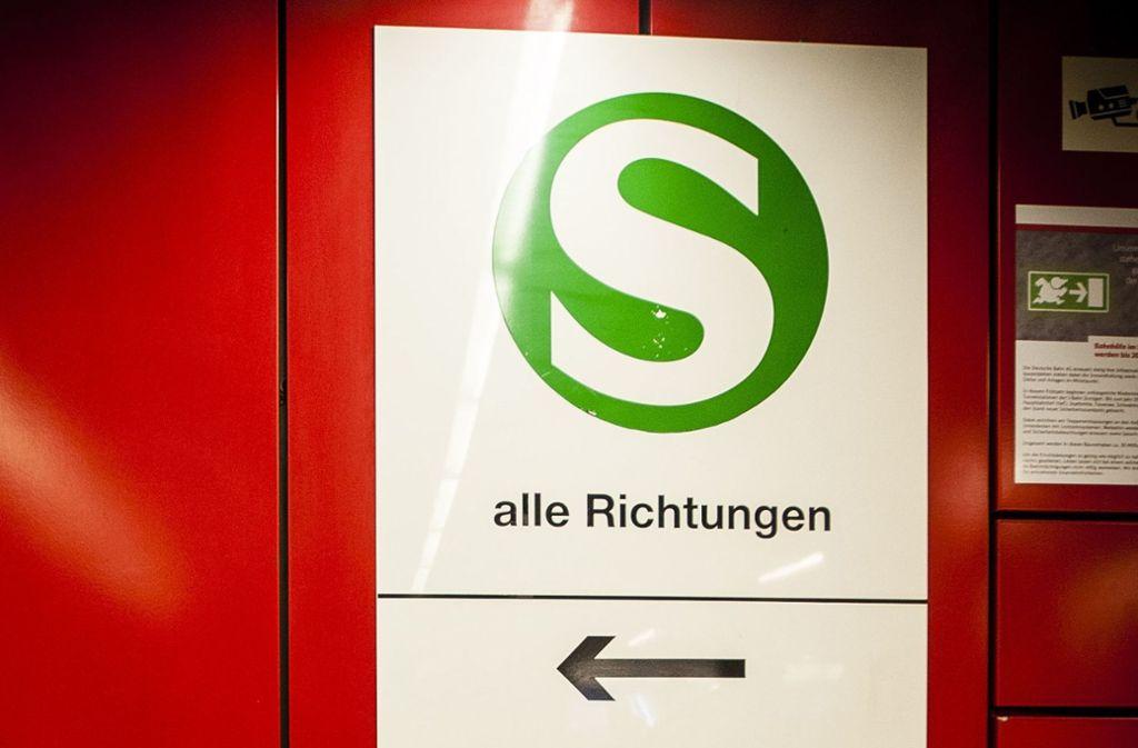 Wohin, S-Bahn? Am Montag gibt es noch Einschränkungen. Foto: Lichtgut
