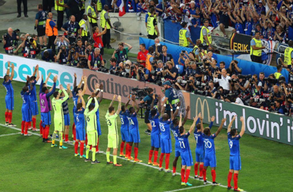 Der isländische Fußball-Verband findet die Nachmache der Franzosen auch nicht lustig. Foto: dpa