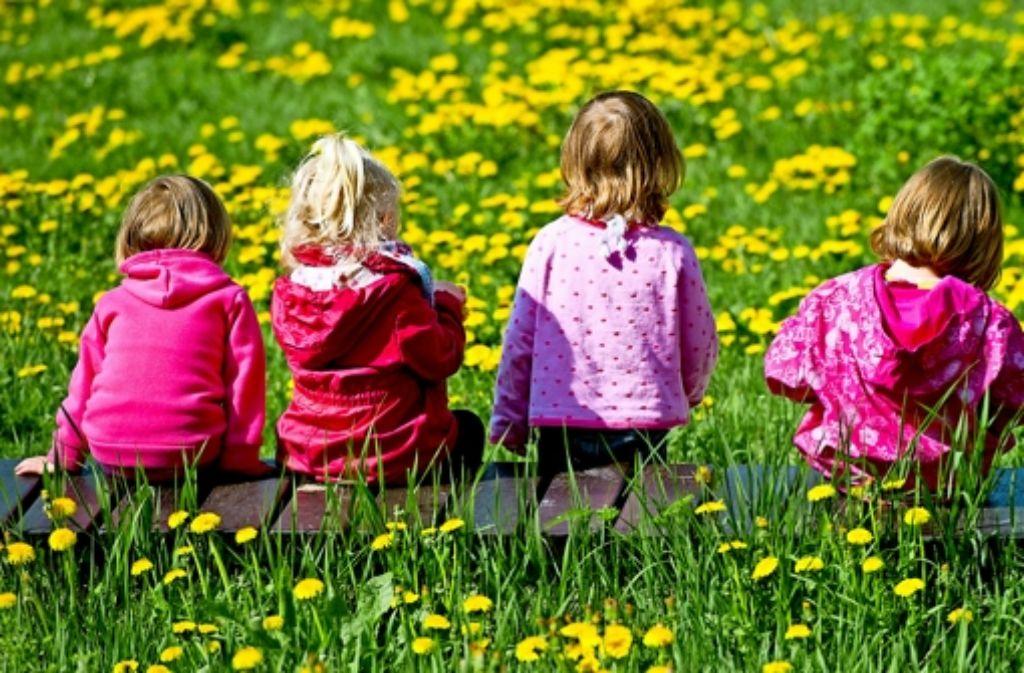 Was wächst denn da? Die Natur ist für viele Kinder ein Buch mit sieben Siegeln. Foto: dpa