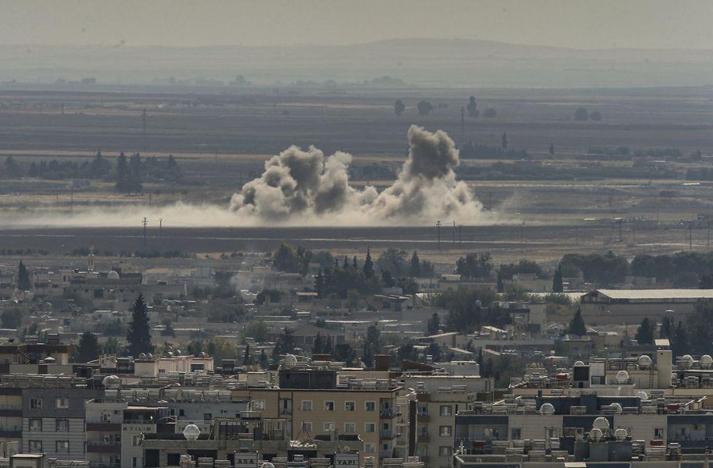 Die Türkei hat im Norden Syriens eine Militäroffensive gestartet. Foto: dpa/Emrah Gurel