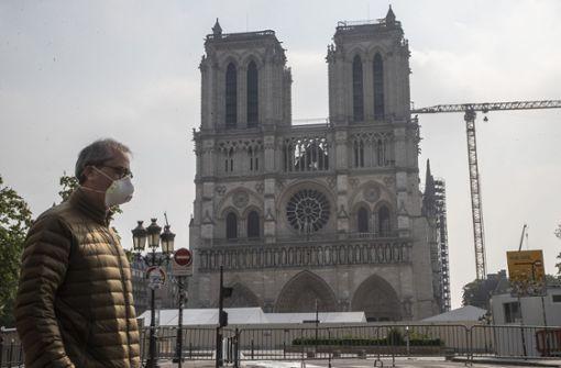 Pariser  Wahrzeichen wird originalgetreu wieder aufgebaut