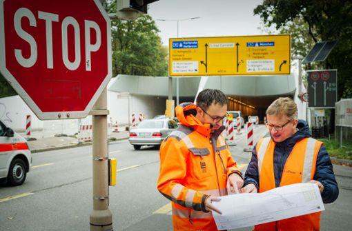 Tunnel voll gesperrt – das müssen  Autofahrer beachten