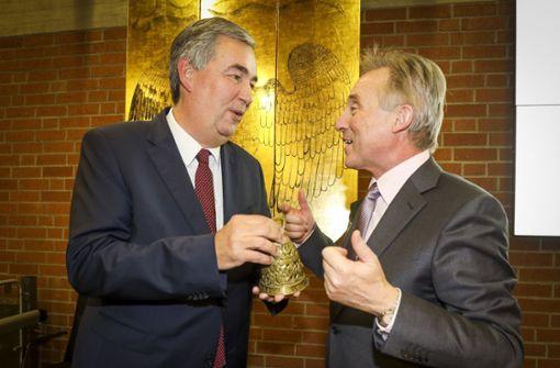 Der neue Landrat Dietmar Allgaier gibt sich versöhnlich