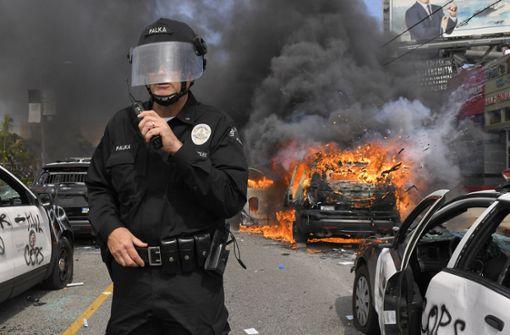 Verwüstungen, Straßenschlachten und Brände in Los Angeles