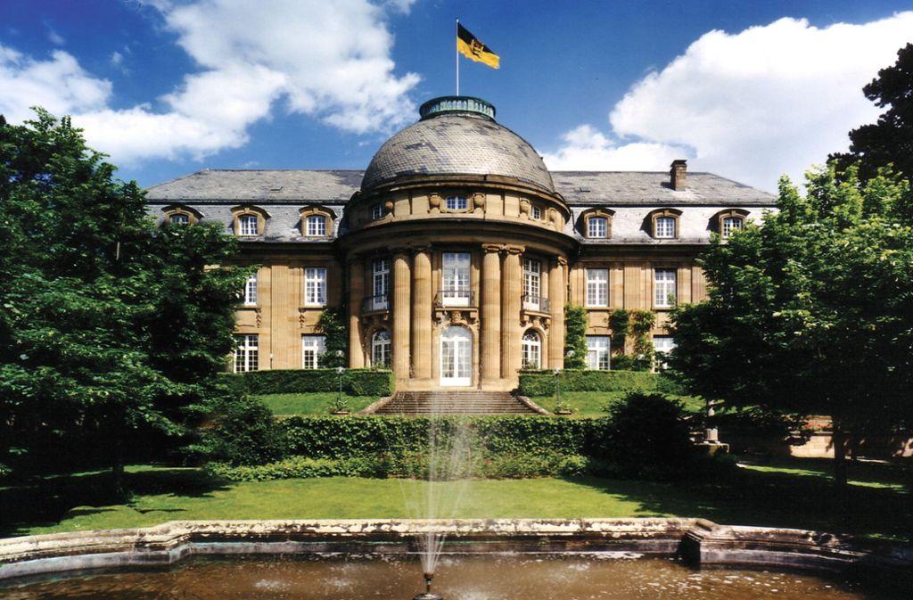Der Park der Villa Reitzenstein ist am 27. April geöffnet. Foto: Staatsministerium Baden-Württemberg