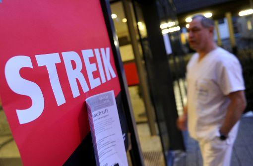 Gewerkschaften kündigen Streik ab Dienstag an