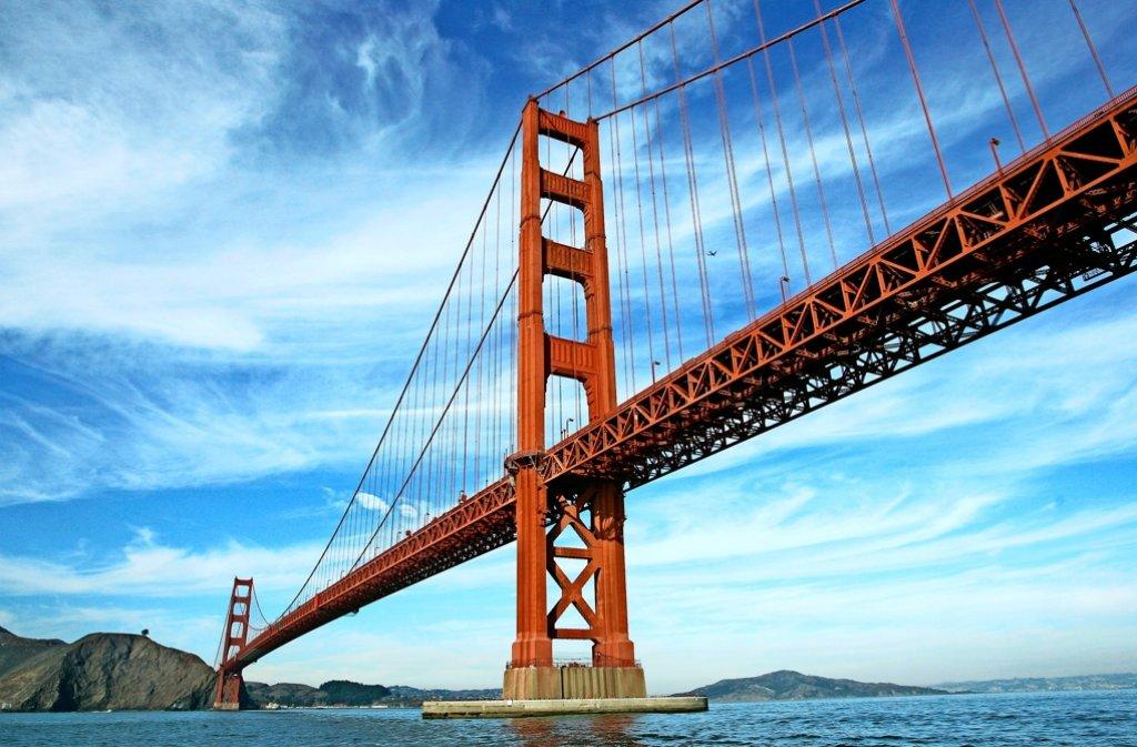 Wie werden Brücken wie die Golden Gate Bridge gebaut? Auch dieser Frage geht die VHS nach. Foto: AP