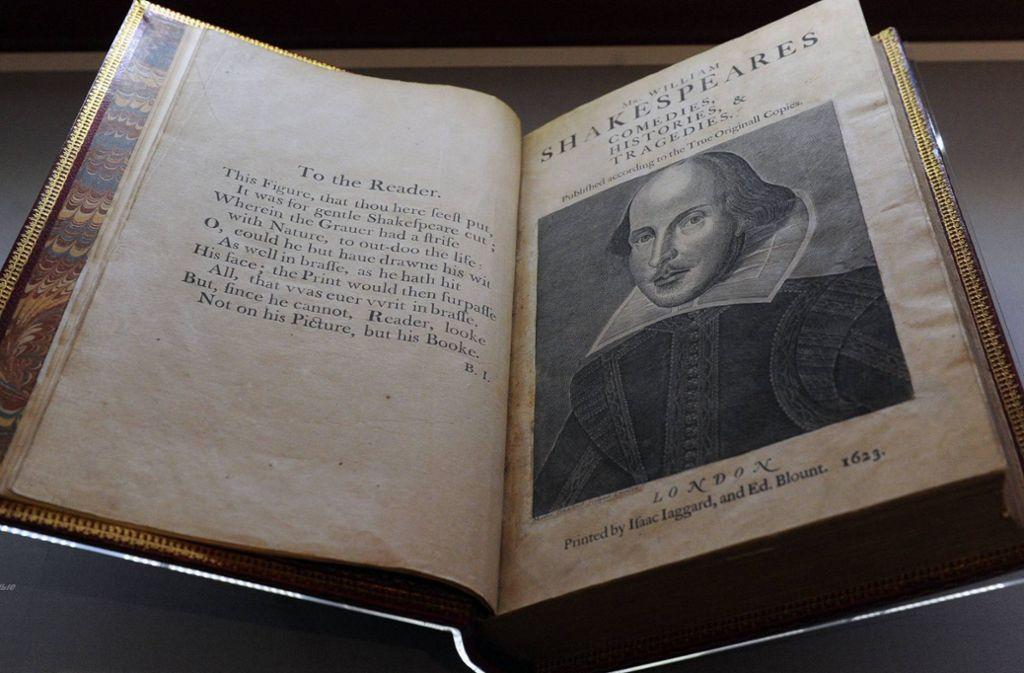 William Shakespeare ist weltweit einer der bekanntesten Poeten. Doch offenbar hat er nicht alle seine Werke alleine geschrieben. Foto: imago stock&people