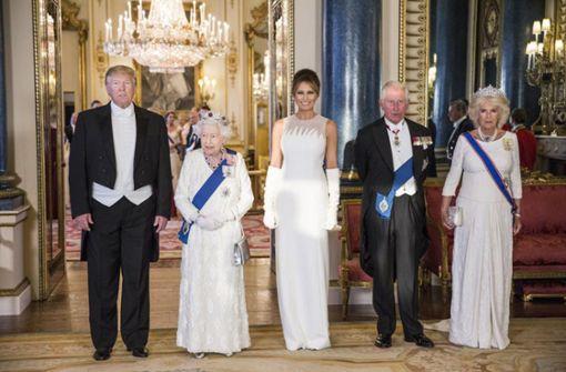 Trumps weiße Zeltweste