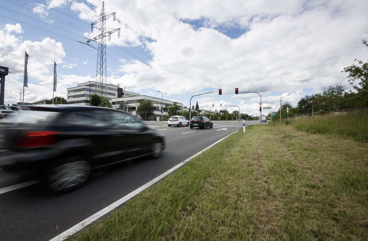 Der Ausbau der Nord-Süd-Straße wurde teurer als gedacht. Foto: Lichtgut/Julian Rettig