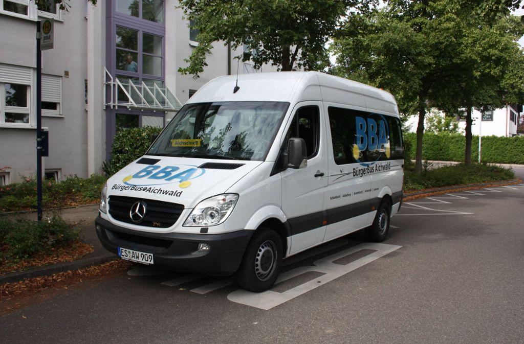 Der alte Bürgerbus von Aichwald könnte bald im Esslinger Norden fahren. Foto: privat
