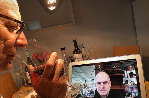 Wenn der Weinhändler virtuell einlädt