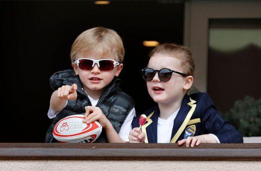Monacos Mini-Royals machen auf cool