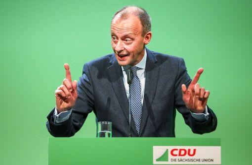 Politiker stellen sich hinter Friedrich Merz
