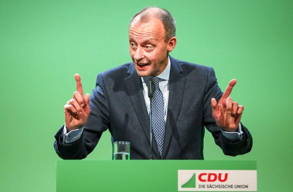 Jens Spahn, Annegret Kramp-Karrenbauer oder Friedrich Merz (Bild): am Wochenende soll entschieden werden, wer zukünftig den Parteivorsitz der CDU inne haben wird. Foto: dpa