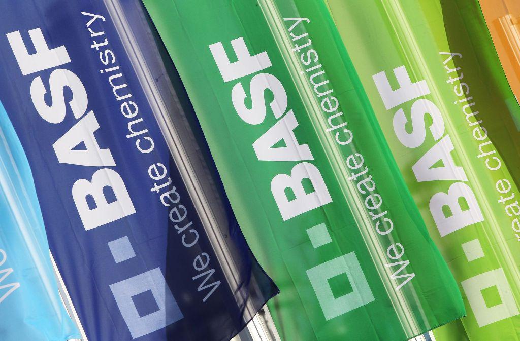 BASF in Ludwigshafen kann dank höherer Öl- und Gaspreise Gewinne verbuchen. Foto: AFP