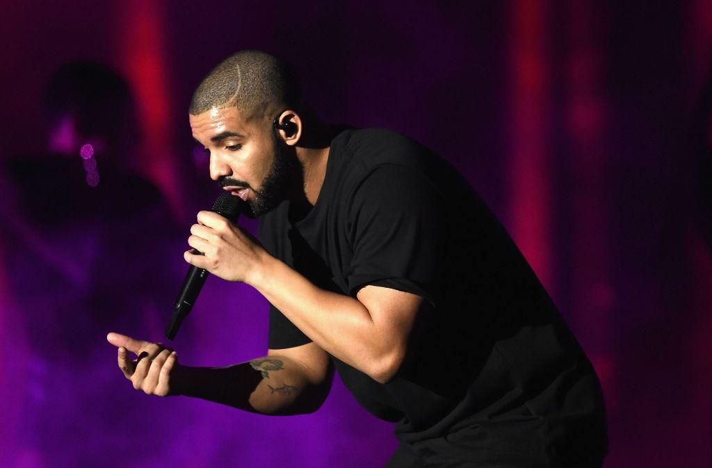 """Drake hat mit seinem Song """"One Dance"""" einen Rekord bei Spotify aufgestellt. (Archivfoto) Foto: Getty Images"""