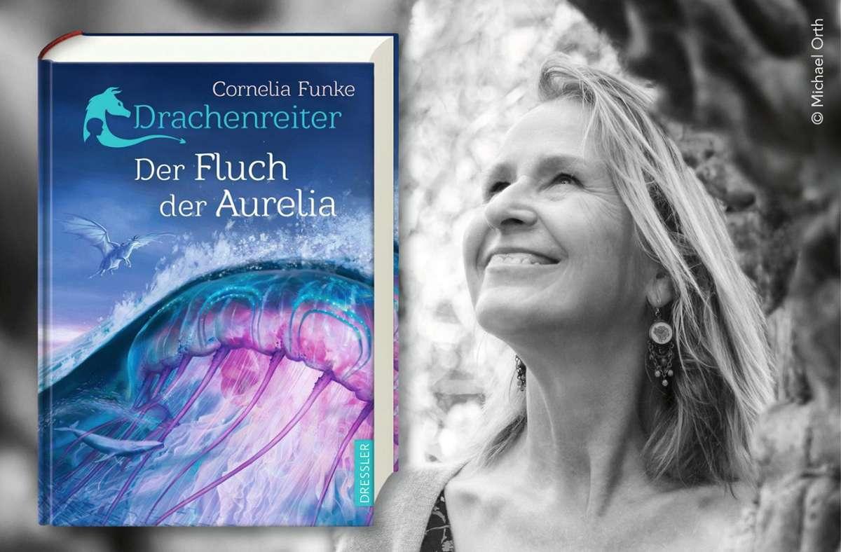 """Von Leseratten jeden Alters sehnlichst erwartet: ein neues """"Drachenreiter""""-BuchFoto:Michael Orth/obs Foto:"""