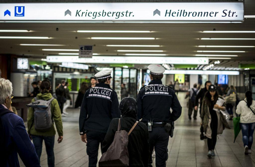 Der Beschuldigte hat in der Klett-Passage für einen Polizei-Großeinsatz gesorgt. Foto: Lichtgut/Max Kovalenko