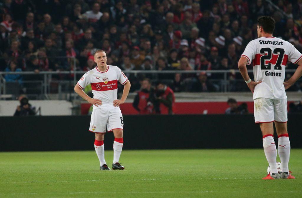 Der VfB Stuttgart hat erneut verloren – dieses Mal gegen Eintracht Frankfurt. Foto: Pressefoto Baumann