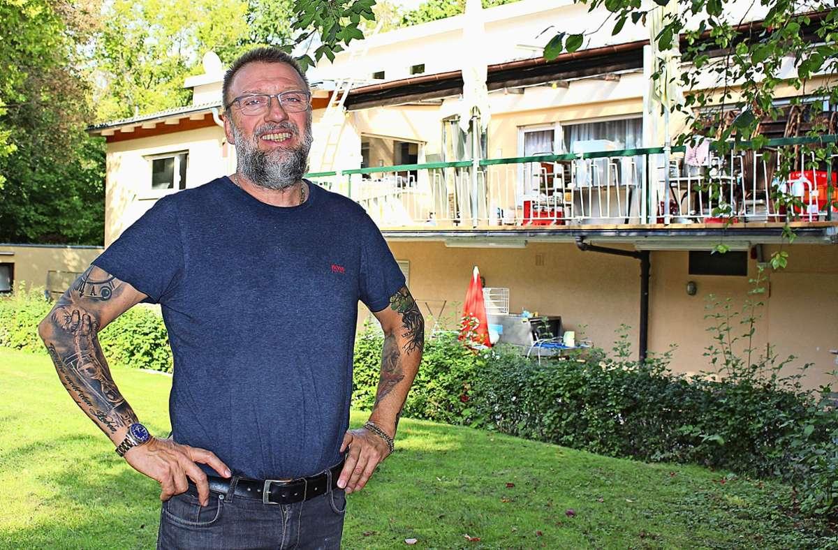 Am 2. Oktober wird Günter Panzenböck mit einem Kompagnon das Naturfreundehaus Vaihingen wiedereröffnen. Foto: Caroline Holowiecki