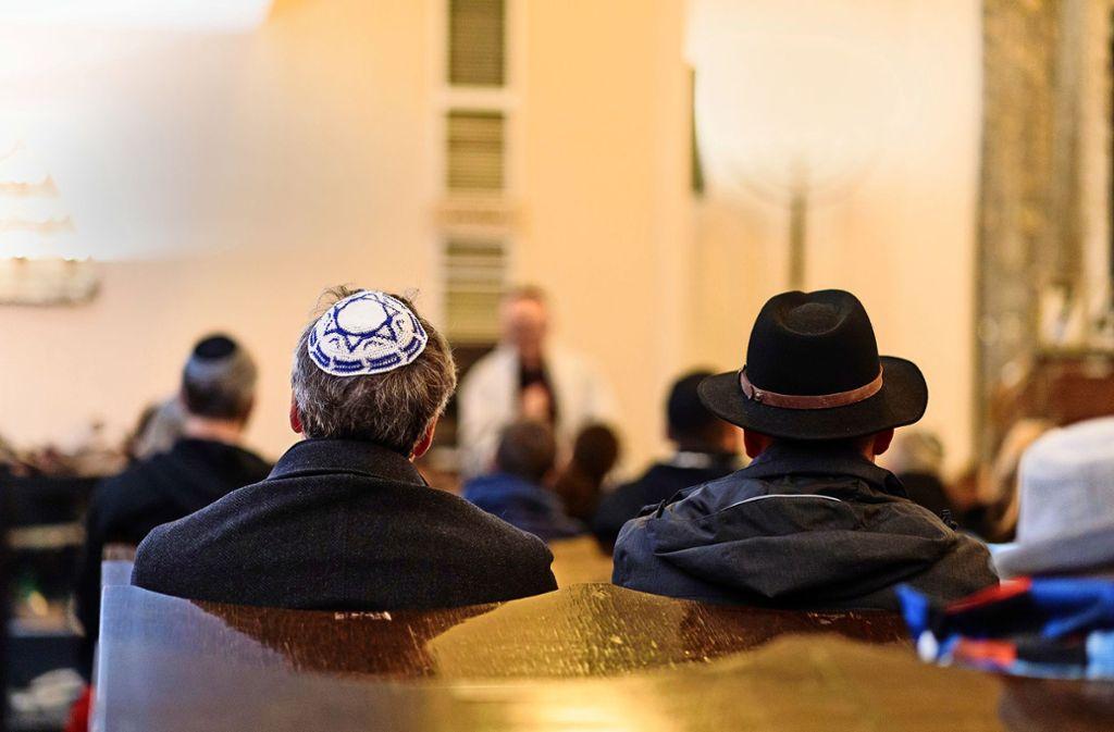 Die jüdische Gemeinde ist auch in Württemberg stark gewachsen. Inzwischen sinken die Zahlen wieder. Foto: Lichtgut/Verena Ecker