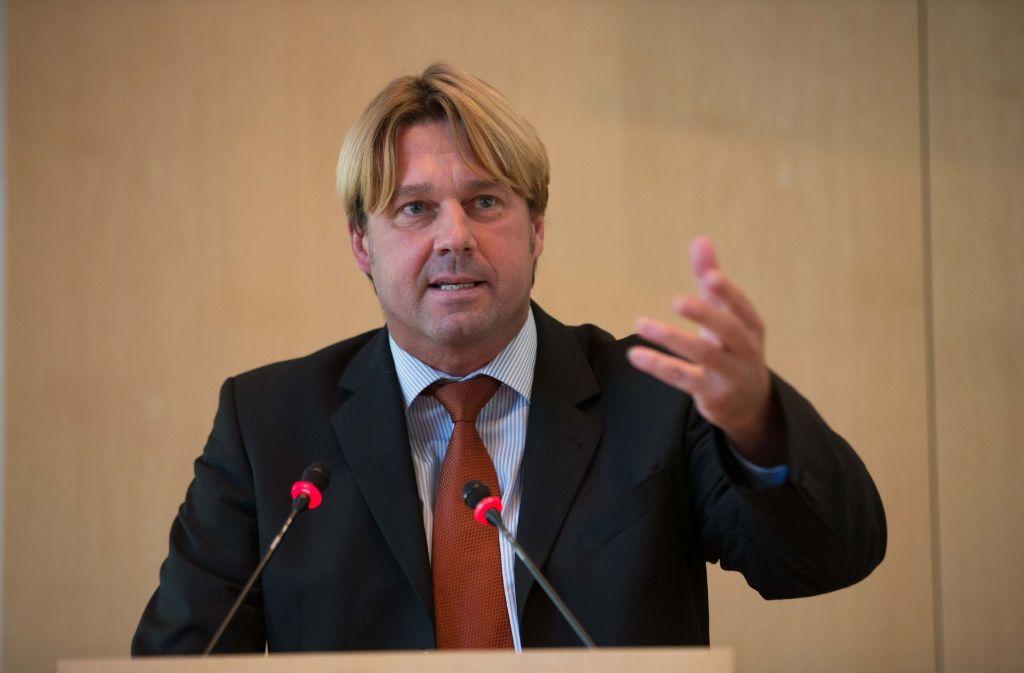 AfD-Fraktionschef Bernd Klingler sieht sich wegen seiner Parteizugehörigkeit politisch verfolgt. Foto: Lichtgut/Leif Piechowski