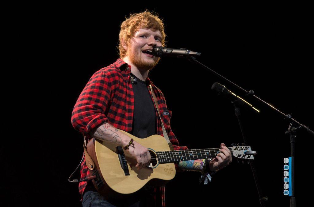 Ed Sheeran kommt nach Deutschland. Foto: AFP