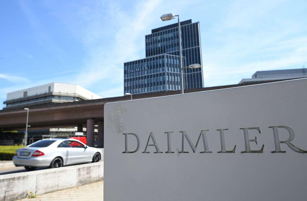 Daimler hat im ersten Quartal unter dem Strich einen satten Gewinn eingefahren. Foto: dpa/Bernd Weissbrod