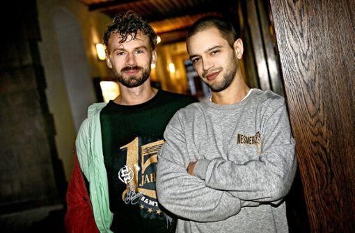 Hip-Hop-Duo mit neuem Stoff