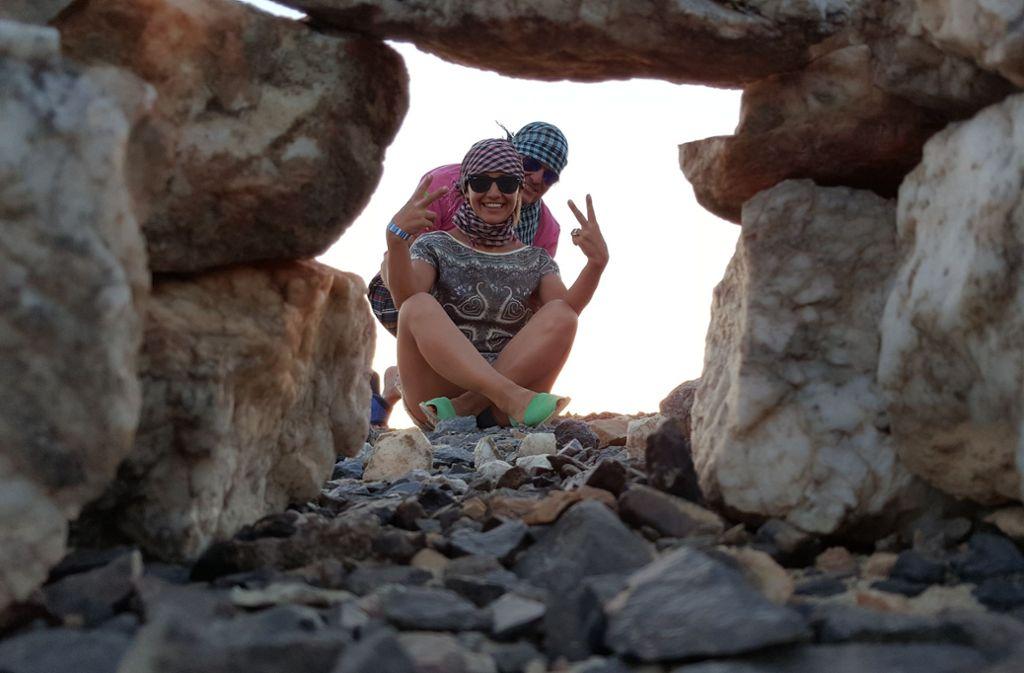 Das Paar bei einer Ägyptenreise, bei der es keine Probleme gegeben hatte. Foto: privat