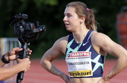 Belarussische Sprinterin bittet um Polen-Visum