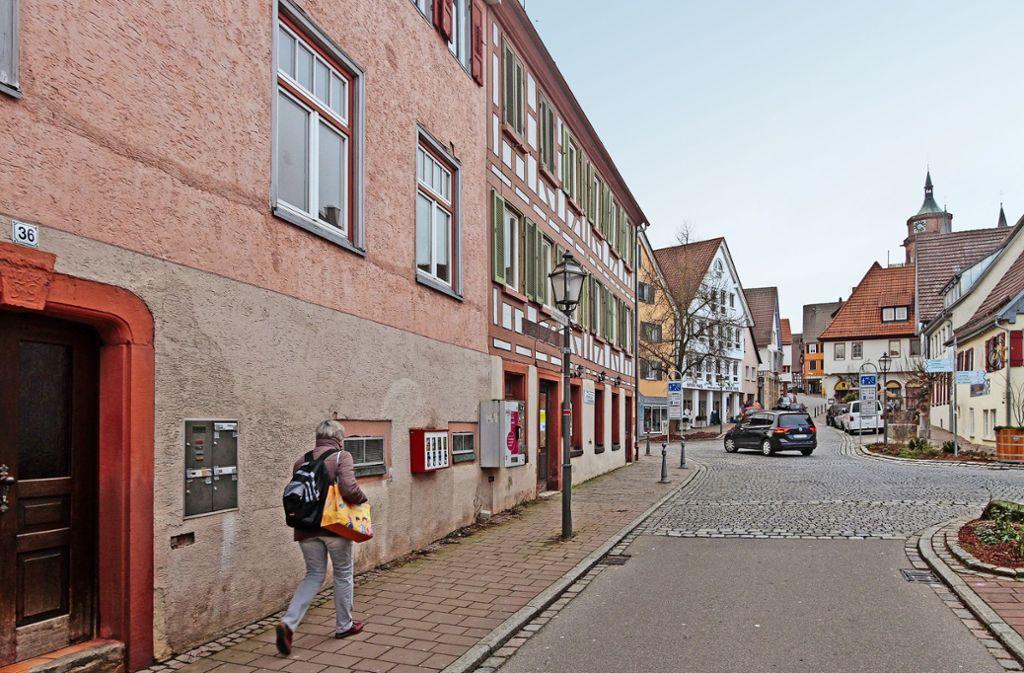 Das Linde-Areal (links) liegt zentral in der  Stadtmitte von Weil der Stadt. Foto: factum/Bach