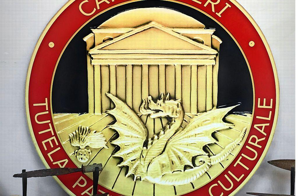 Das Logo der Carabinieri Tutela Patrimonio Culturale Foto: