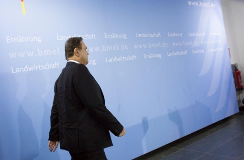 Der frühere Minister Hans-Peter Friedrich (CSU) Foto: dpa