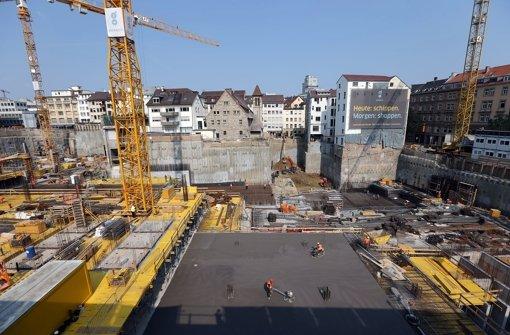 Die Gerber-Baustelle im September 2012. Foto: Achim Zweygarth