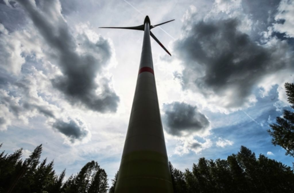 In der Region Stuttgart gibt es derzeit 27 Windräder. Quelle: Unbekannt