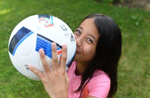 Neunjährige Zoe hofft auf Ronaldos Hand