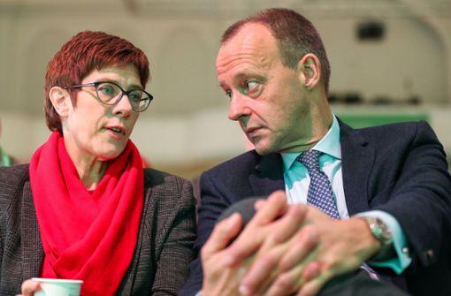 Kramp-Karrenbauer untermauert ihren Führungsanspruch