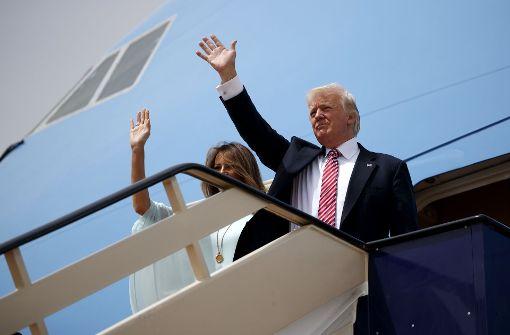 Trump trifft in Israel ein