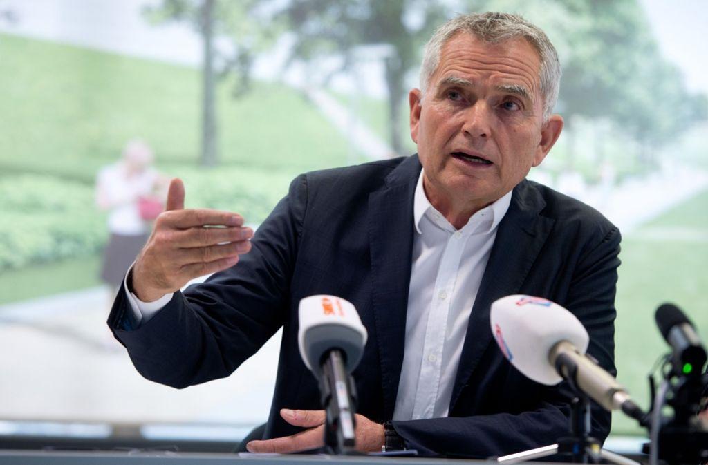 Der Vorstand von Fußball-Zweitligist VfB Stuttgart hat sich hinter den Präsidentschaftskandidaten Wolfgang Dietrich gestellt. Foto: dpa
