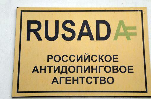 Rusada dementiert angebliches Doping-Eingeständnis