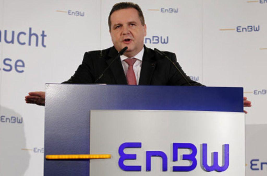 Der von Regierungschef Stefan Mappus im Alleingang eingefädelte Rückkauf des Stromkonzerns EnBW hat sich zu einem Risiko entwickelt. Foto: dapd