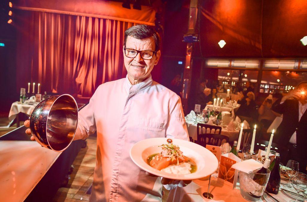 Harald Wohlfahrt hat mit seinem neuen Vier-Gänge-Menü einen neuen Höhepunkt in seiner 16-jährigen Palazzo-Zeit erreicht. Foto: Lichtgut - Ferdinando Iannone
