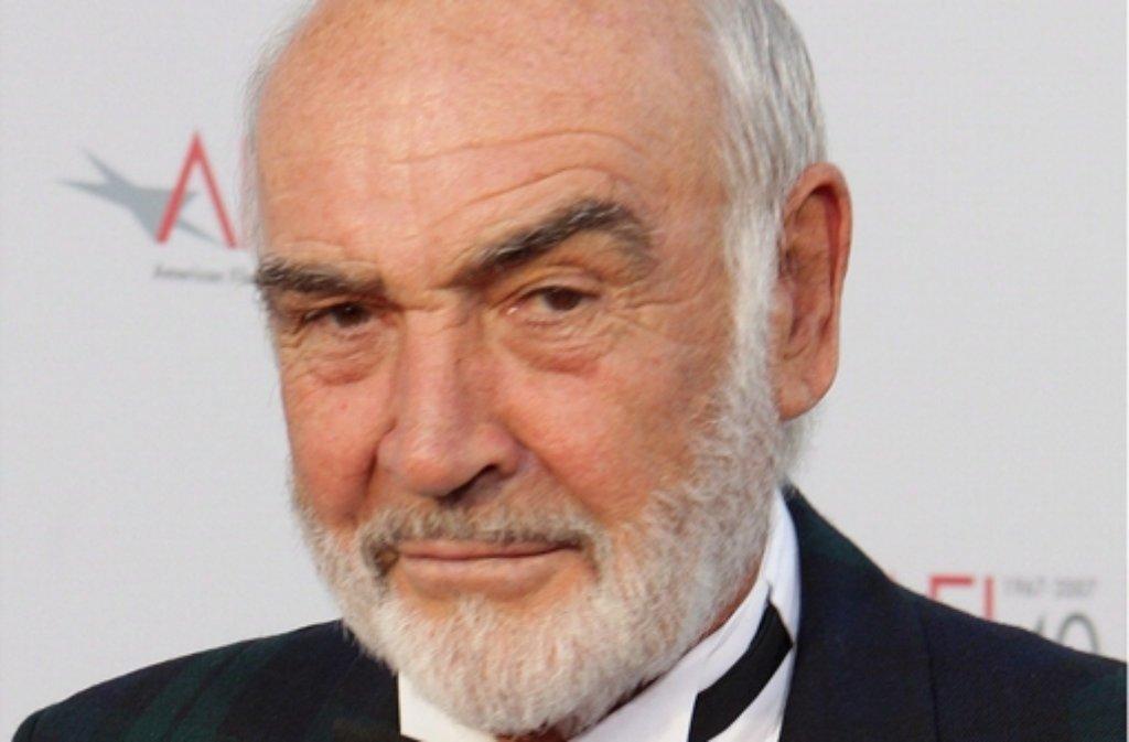 """Oscar-Preisträger Sean Connery ist ein leidenschaftlicher Verfechter von Schottlands Unabhängigkeit: """"Als Schotte und als jemand, der sein Leben lang Schottland wie auch die Kunst geliebt hat, bin ich überzeugt, dass die Gelegenheit für die Unabhängigkeit zu gut ist, um sie zu verpassen."""" Foto: epa"""
